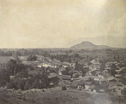 General view at Srinagar.